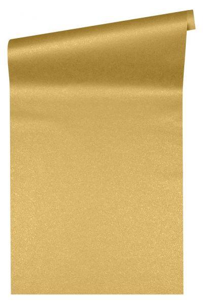 Uni Vliestapete gold gelb metallic Versace 4
