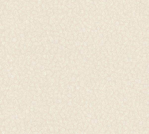 Grafisches Muster Vlies Tapete creme beige
