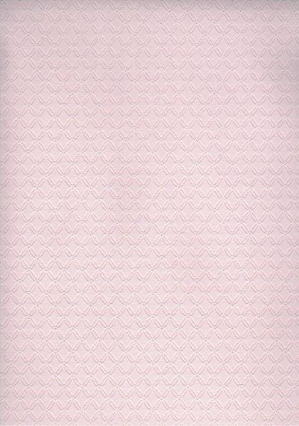 Vliestapete Rautenprägung Stepp Optik Glitzer rosa