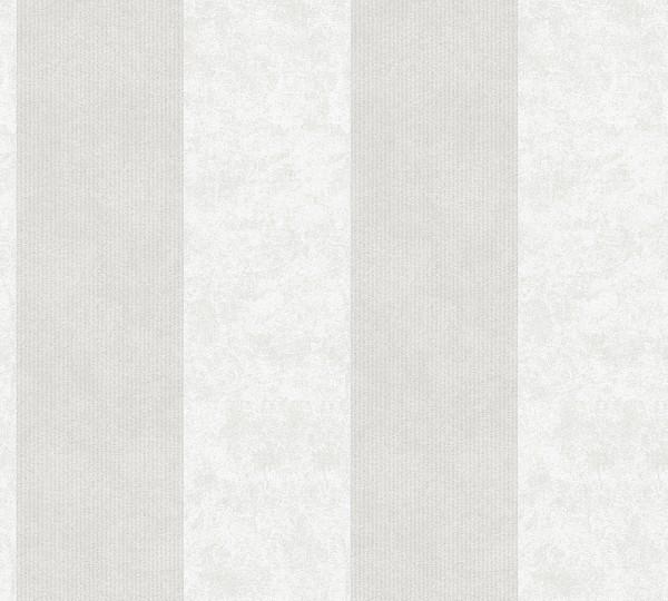 Vliestapete Streifen Glitzer creme grau Memory 3