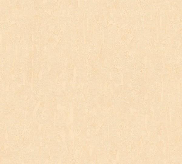 Vliestapete Uni Putz Optik creme beige Chateau 5
