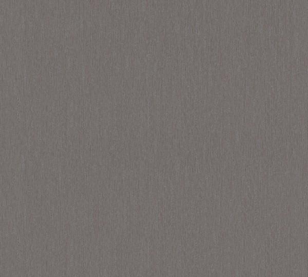 Vliestapete Uni dunkel grau metallic Hermitage