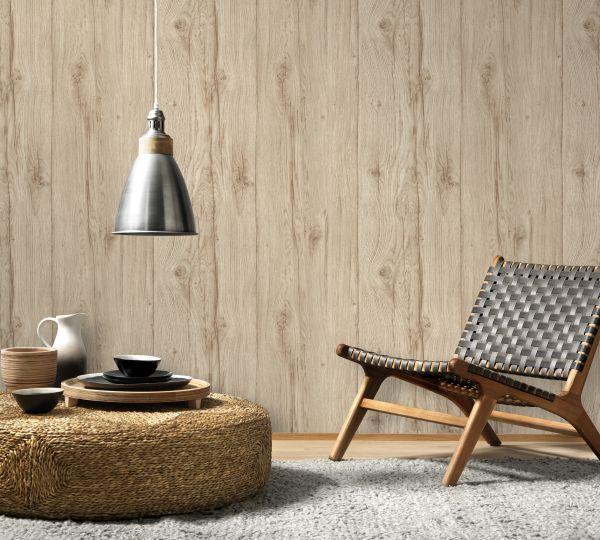 Vliestapete Antik Holz rustikal beige verwittert shabby Landhaus