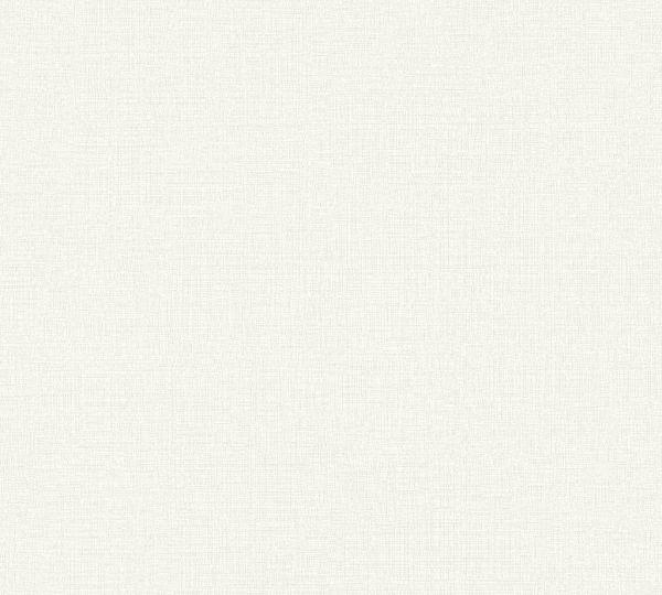 Vliestapete Uni Struktur Textil Leinen Optik creme beige