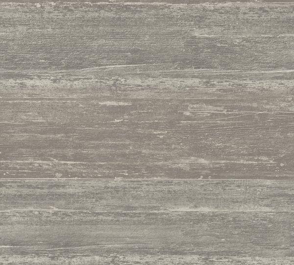 Vliestapete Querbalken Holz Optik taupe grau