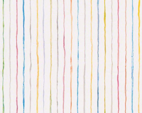 Esprit Kids Tapete bunte Wasserfarben Streifen