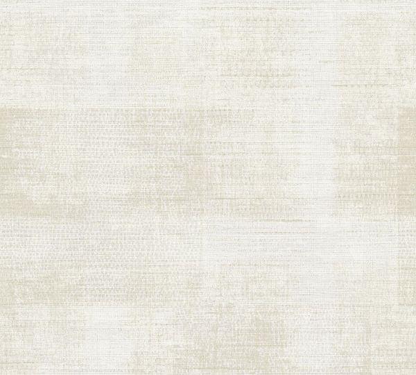 Vliestapete Patina Textil Optik creme