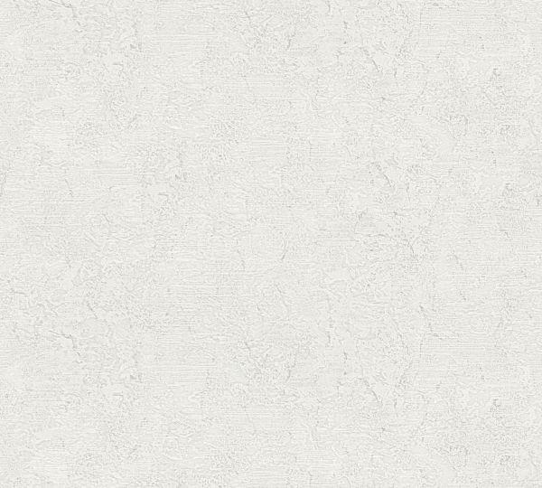 Vliestapete Uni Struktur creme grau Großrolle