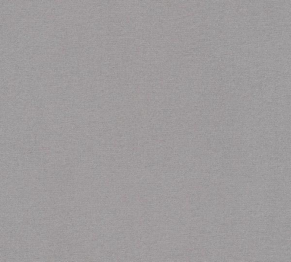 Vliestapete Uni Textil Optik Struktur dunkel grau Elegance