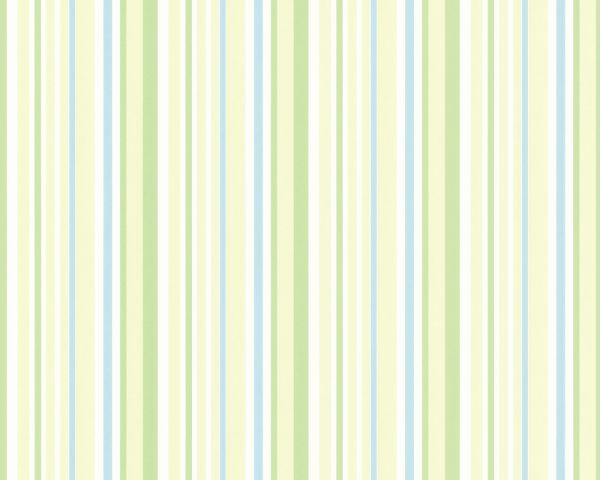 Esprit Kids Streifen Vliestapete blau grün weiß