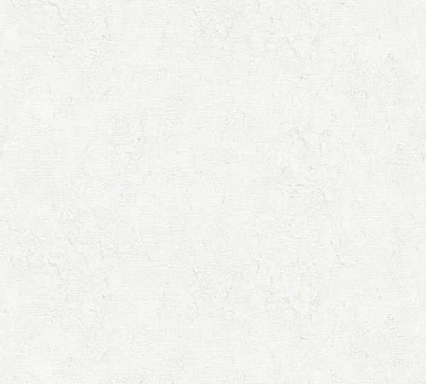 Vliestapete Uni Struktur creme weiß Großrolle