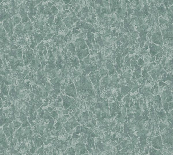 Vliestapete Uni Marmorstruktur grün metallic Aloha Großrolle