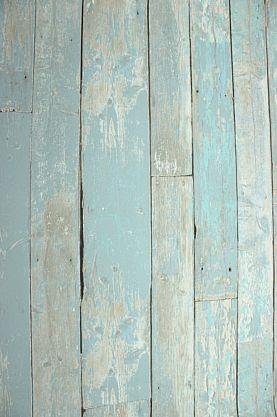 Vliestapete Antik Holz rustikal blau türkis