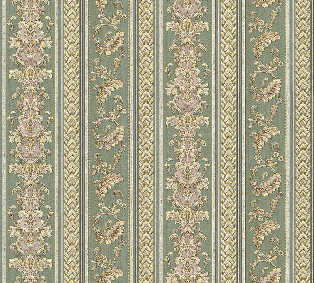335474 elegante ranken streifen tapete online kaufen for Elegante tapeten