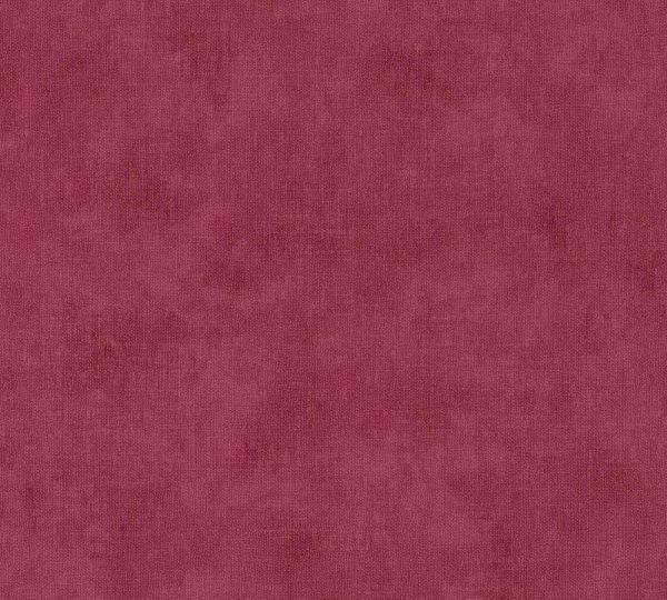 Vliestapete Uni Textil Optik rot