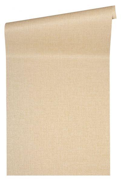 Uni Struktur Vliestapete beige metallic Versace 4