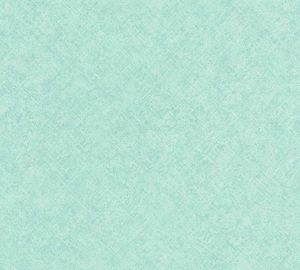 Vliestapete Uni Struktur Boho türkis grün
