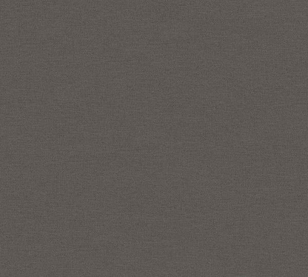 Uni Vlies Tapete Textil Optik braun schwarz Palila
