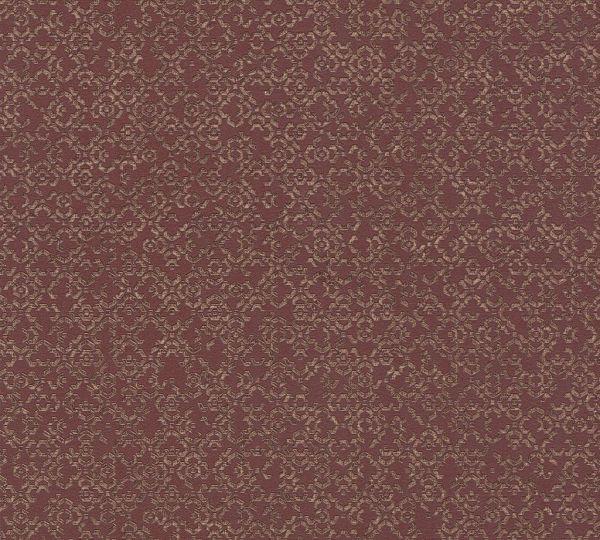 Vliestapete marokkanisches Grafik Muster rot braun metallic