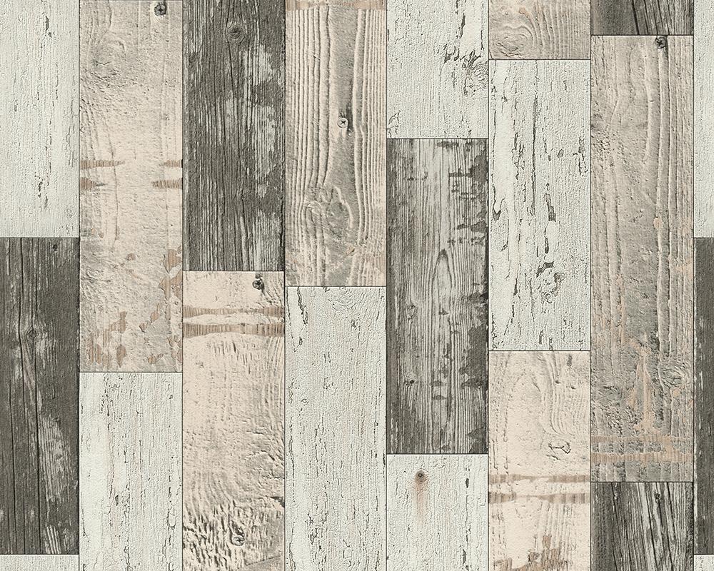 vinyl tapete antik holz rustikal beige braun bretter. Black Bedroom Furniture Sets. Home Design Ideas