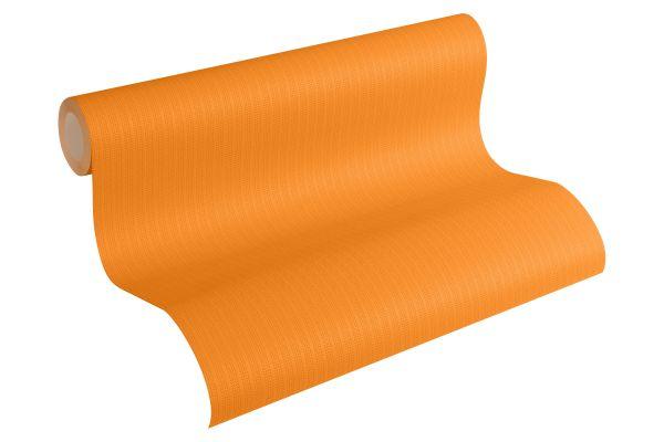 Uni Struktur Vliestapete orange Esprit Kids