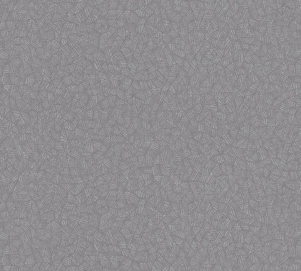 Grafisches Muster Vlies Tapete grau