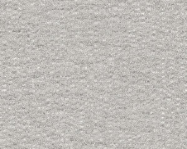 Vliestapete Uni Textil Optik Struktur grau Elegance