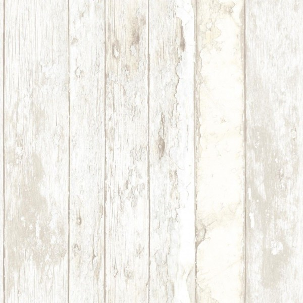 Vliestapete Antik Holz rustikal verwittert Vertäfelung beige braun