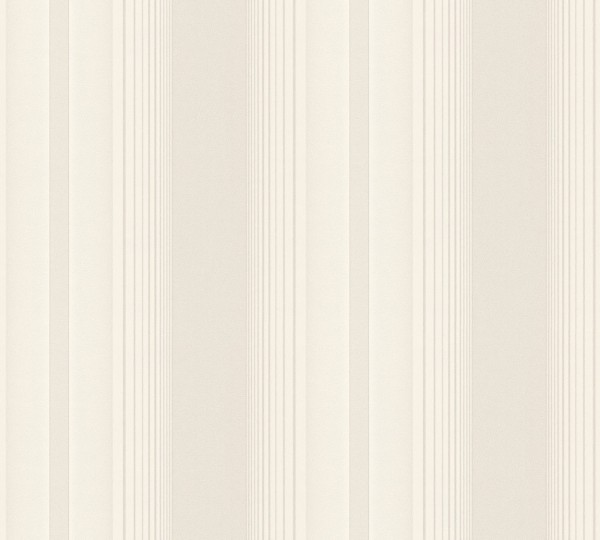 Vliestapete Streifen creme beige