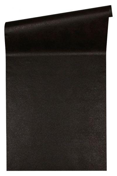 Uni Vliestapete schwarz metallic Versace 4