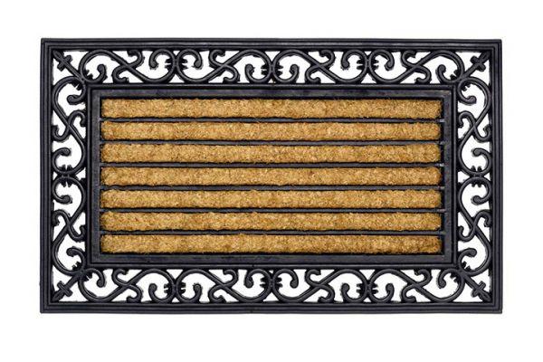 Gummi Kokos Fußmatte Impala Brush 45 x 75 cm