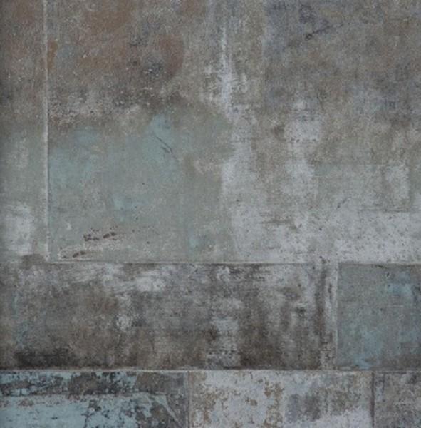 Vliestapete Stein Bruchstein anthrazit grau braun metallic
