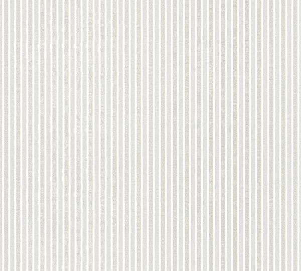 Vliestapete Kinder Streifen Muster silber grau metallic