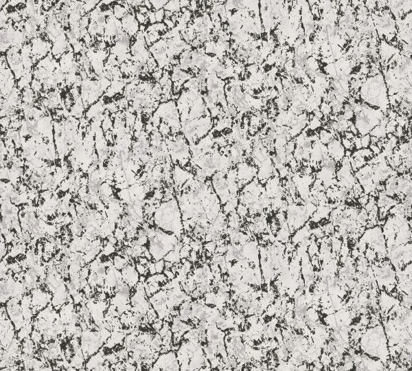 Vliestapete Uni Marmorstruktur schwarz grau metallic Aloha Großrolle