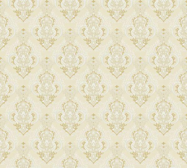 Vliestapete Barock Ornament creme beige Großrolle
