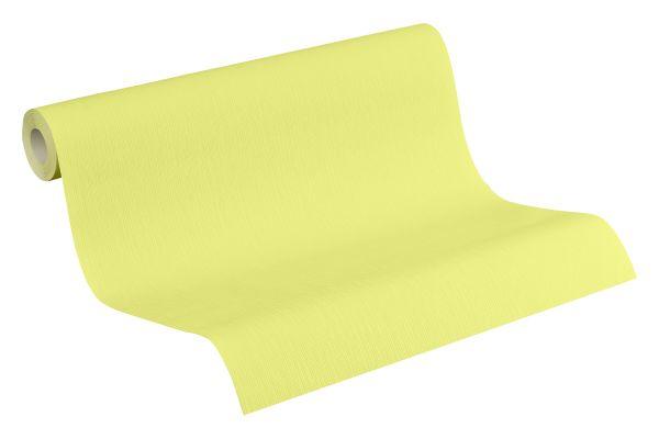 Uni Struktur Vliestapete Esprit Kids grün gelb