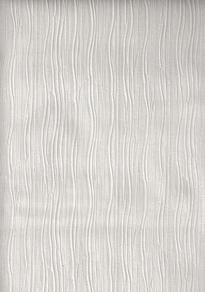 Vliestapete Uni Stuktur weiß creme grau Faltenoptik