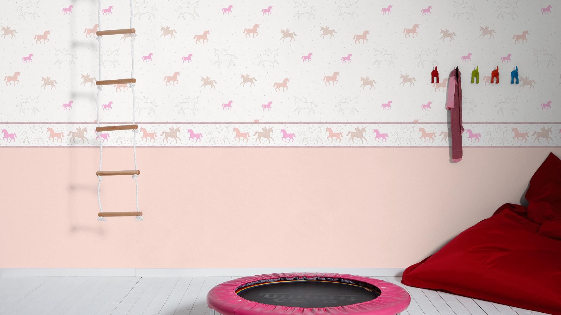 Esprit Kids 5 Vlies Tapete Uni Struktur altrosa 3115-59 311559