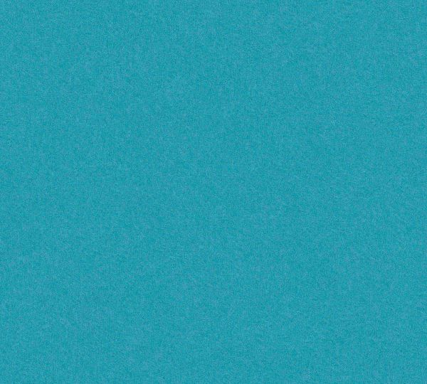 Vliestapete Uni türkis blau meliert