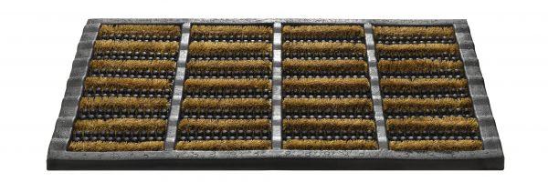 Outdoor Gummi Kokosrollen Fußmatte 341 Mudbuster 40x60 cm
