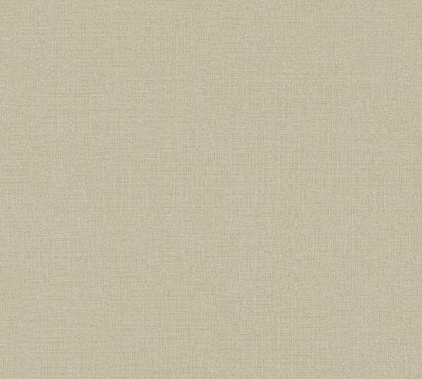 Vliestapete Uni Struktur Textil Leinen Optik beige braun