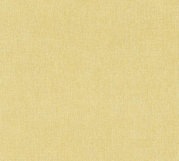 Vliestapete Uni Struktur gelb Elegance