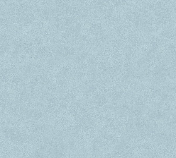 Vliestapete Uni blau meliert Memory 3