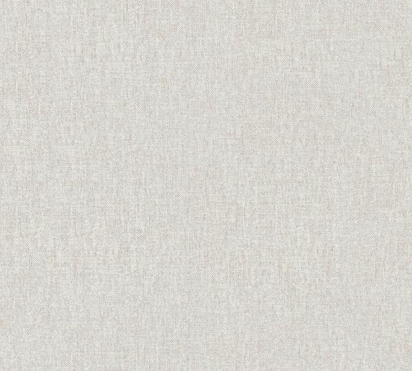 Vlies Tapete Uni Struktur Textil Optik beige