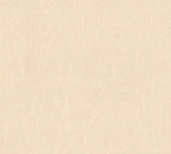 Vliestapete Uni Putz Optik beige Chateau 5