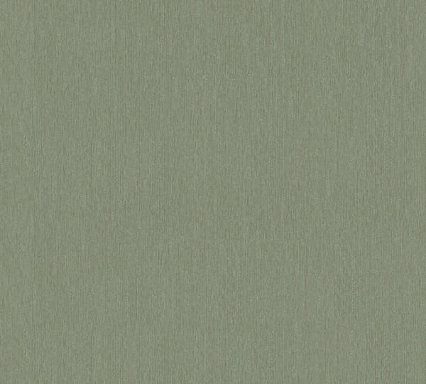 Vliestapete Uni grün metallic Hermitage