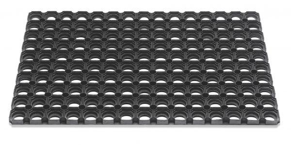 Outdoor Gummi Fußmatte Domino 40 x 60 cm