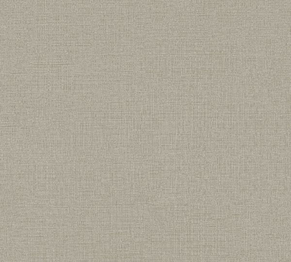 Vliestapete Uni Struktur Textil Leinen Optik taupe grau