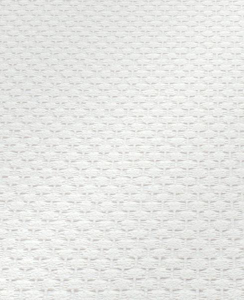 Uni Glasfaser Struktur Vliestapete 15 m Rolle weiß