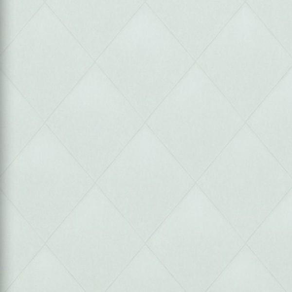 Vlies Tapete Rauten Muster creme grau kariert textil jeans optik